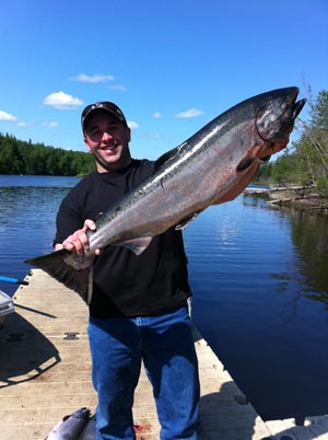 Nice King Caught with the Deshka River Fishing Guides - iFish Alaska Gude Service