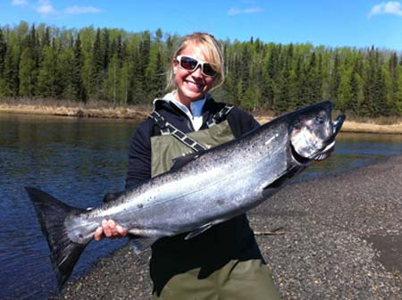 Alaska Salmon Fishing with iFishAlaska Guide Service