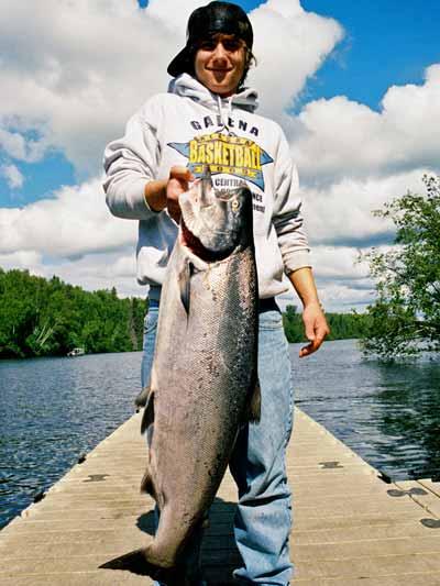 Pat's son Dave - Alaska Fishing Gude