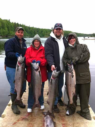 Deshka River Salmon Fishing with Family