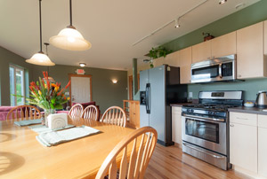 Harvest Lodge B&B in Wasilla, Alaska has a full kitchen