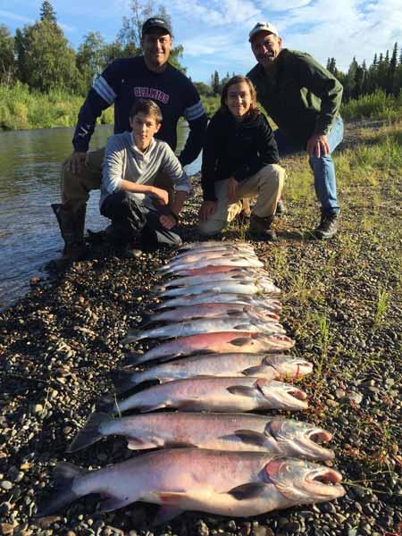 Silver Salmon Fishing Trips Close To Anchorage, AK